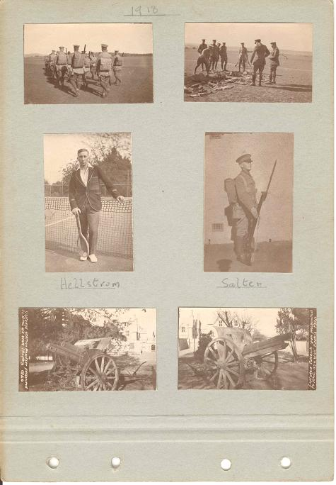 Duntroon Photo Album 1917-1920 Page 19