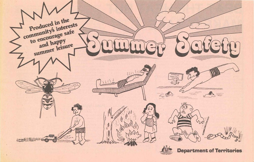 Summer Safety - Cover