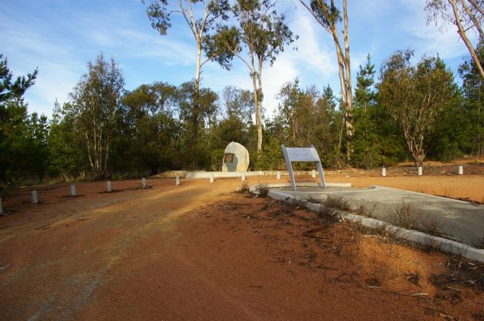 Air Disaster Memorial site in 2005