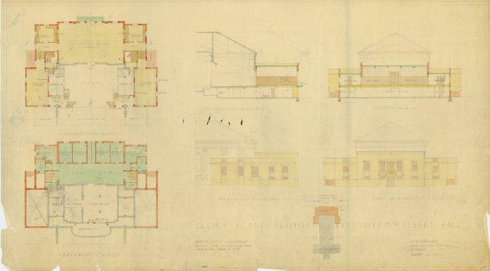 Plan 10002 - Albert Hall Extension