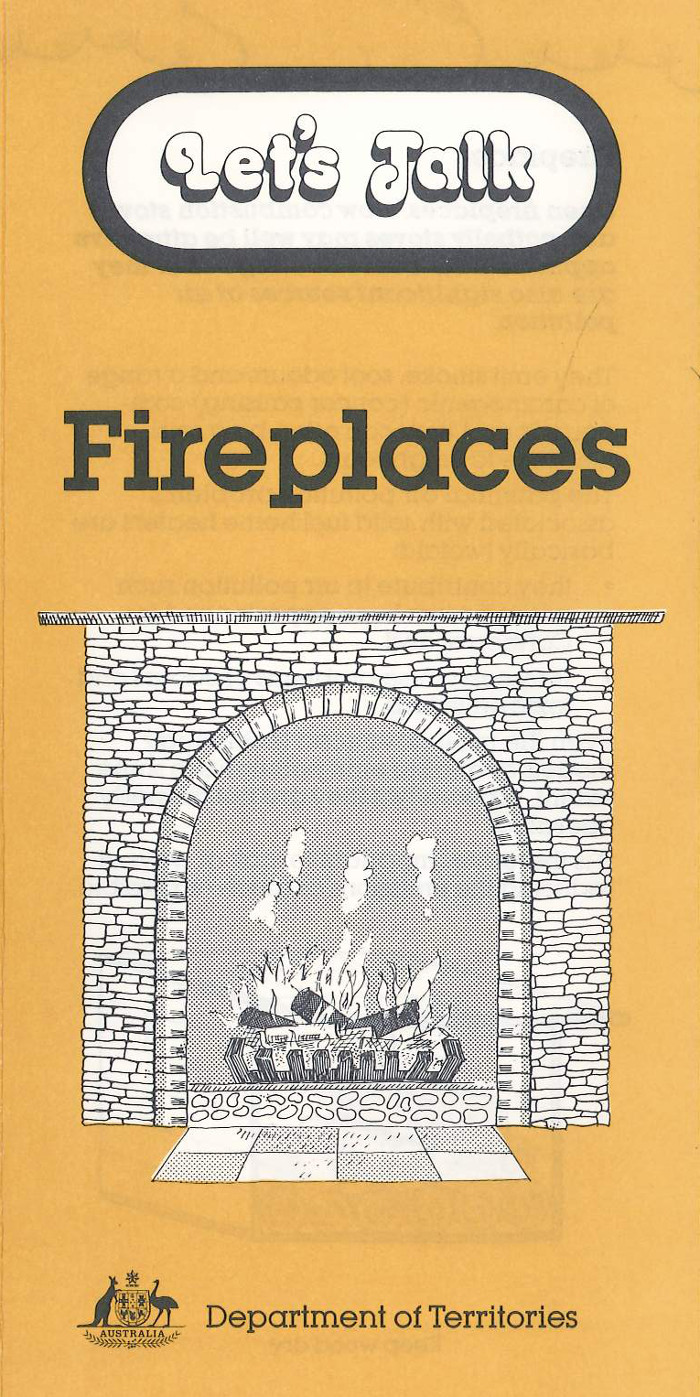 Let's Talk Fireplaces brochure cover