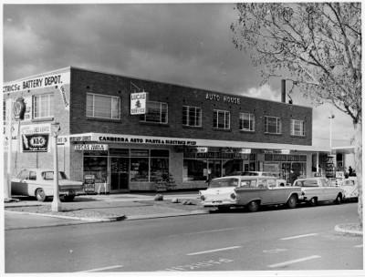 8 Londsdale Street Braddon in 1968