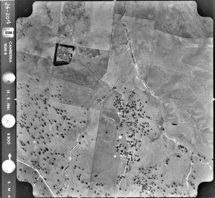 Aerial photo of Belconnen Block 17 - 15th May 1961