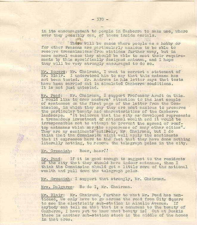 NCDC Minutes 30/04/1962 - page 370