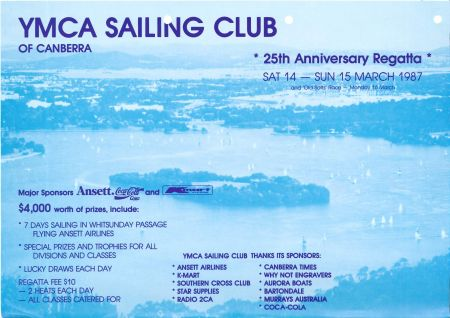 Handout for the 25th Anniversary Regatta