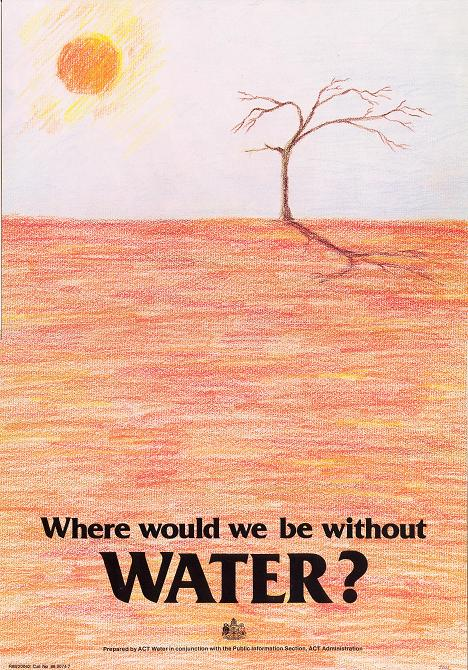 Poster - Where would we be without water?