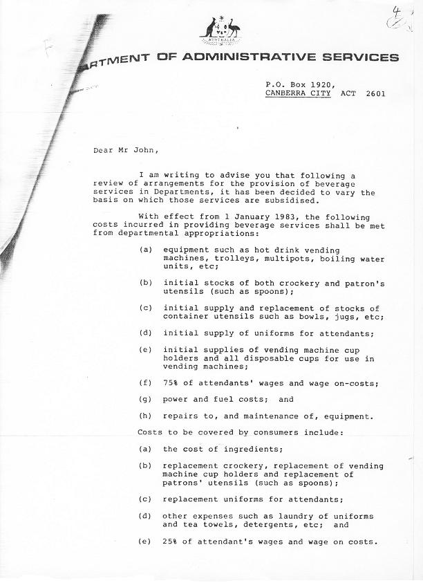87-7646 - Support Services Branch - Tea Services Review 1987 - folio 4