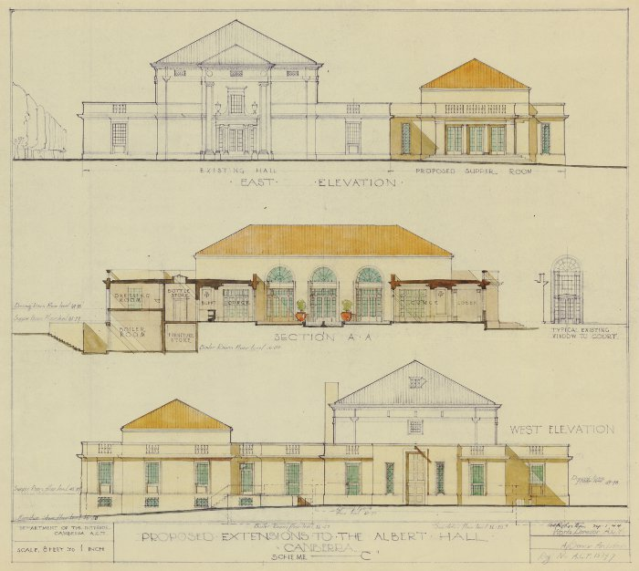 Plan 15197 - Albert Hall Extension