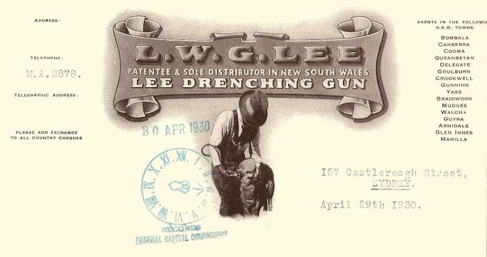 L.W.G. Lee company logo