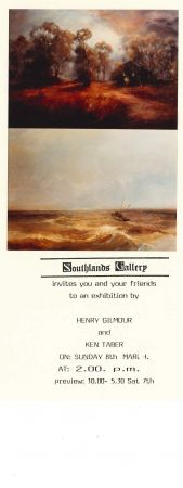 Flier for the Southlands Gallery