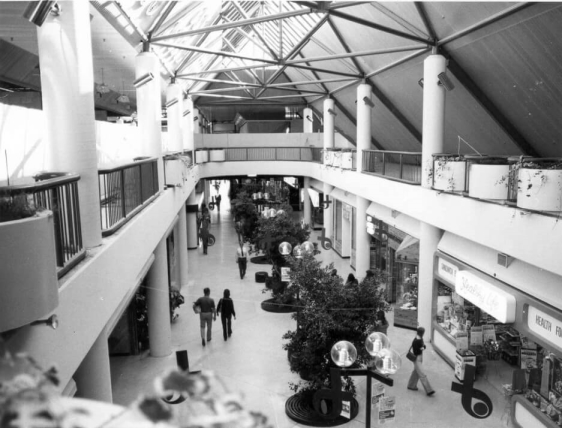 Internal photo of Belconnen Mall