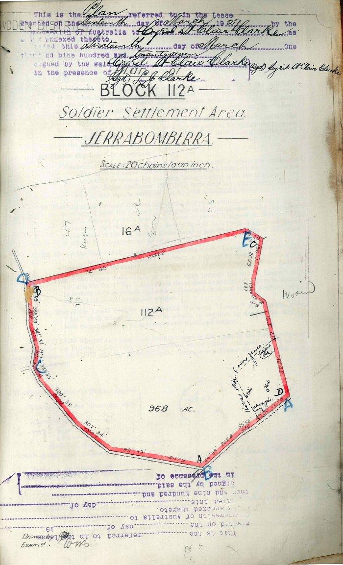 Plan of Woden Block 112A