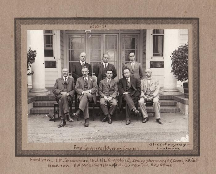 Photo of 1930 Advisory Council