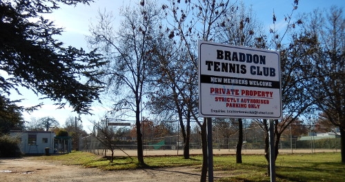 Braddon Tennis Club May 2015