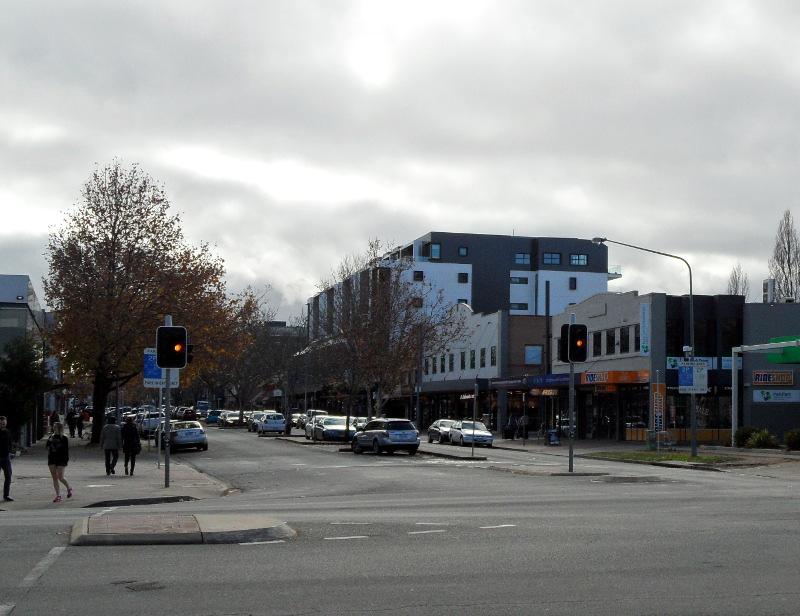 Lonsdale Street Braddon in 2016