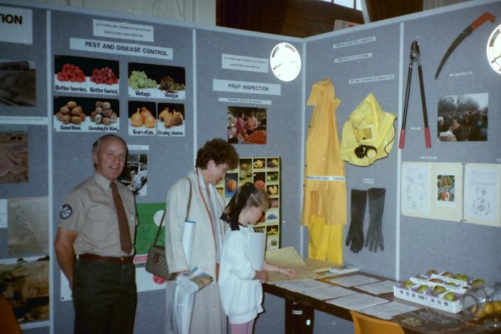1988 Heritage Week Natural Environment display in the Albert Hall