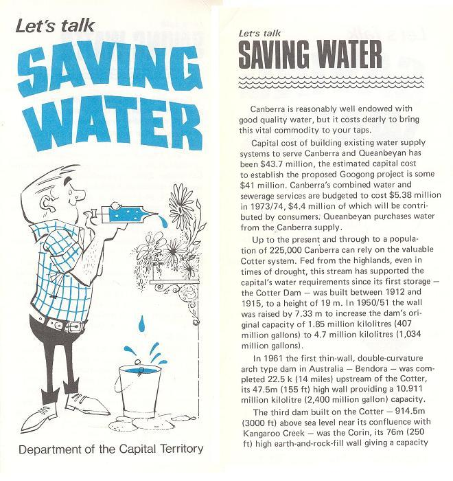 Lets Talk Saving Water - page 1