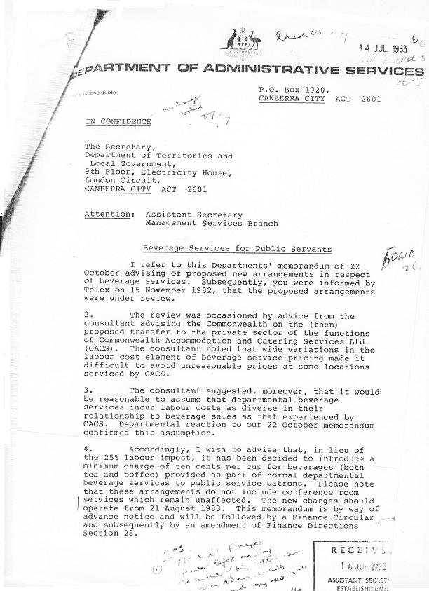 87-7646 - Support Services Branch - Tea Services Review 1987 - folio 6