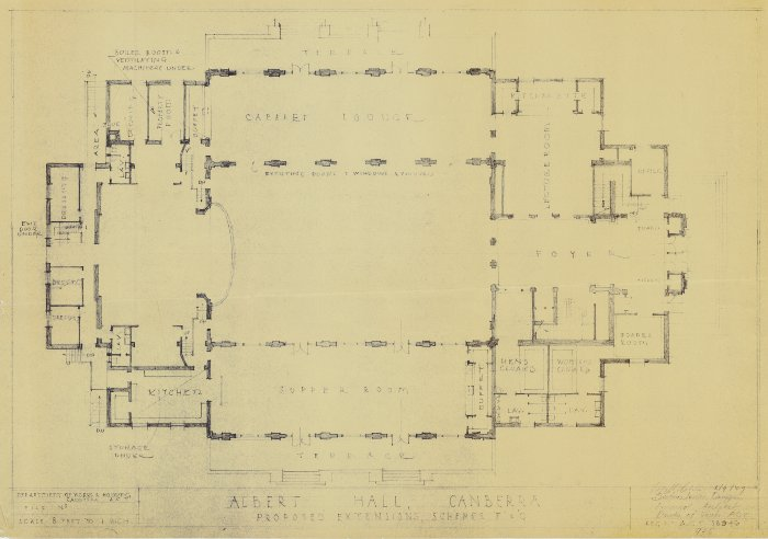 Plan 18946 - Albert Hall Extension