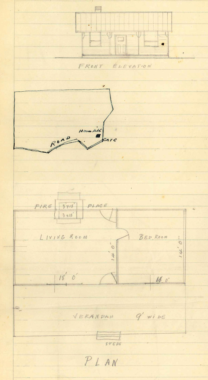 House Plan for Woden Block 25A