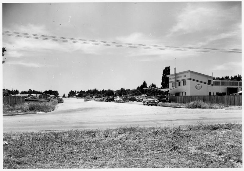 Lonsdale Street, Braddon in 1952