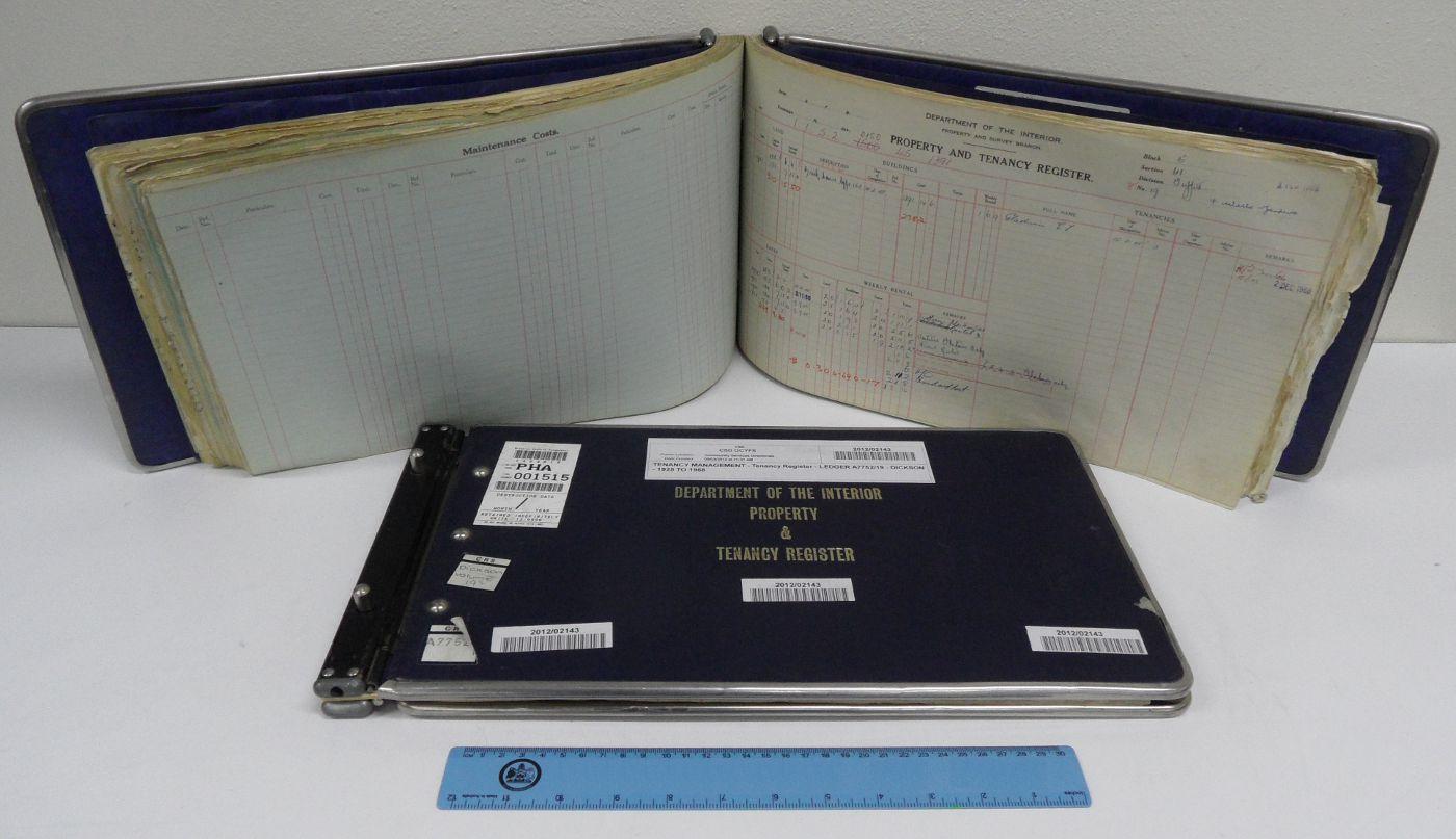 Sample Tenancy Registers