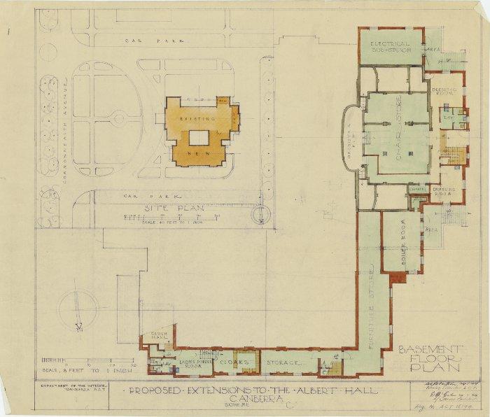 Plan 15194 - Albert Hall Extension