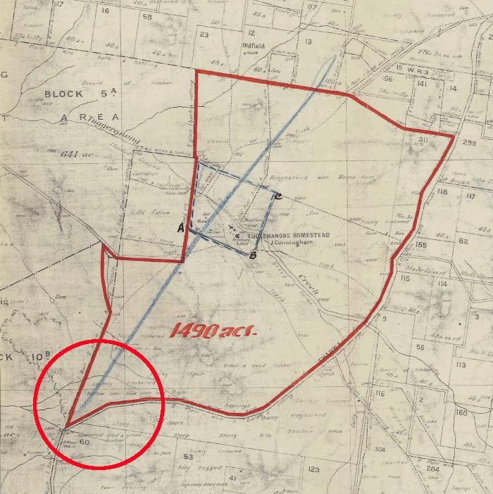 Tuggeranong Homestead c1940