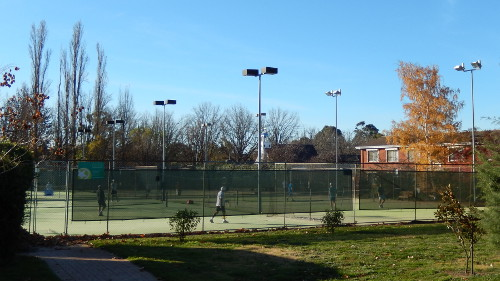 Forrest Tennis Club May 2015