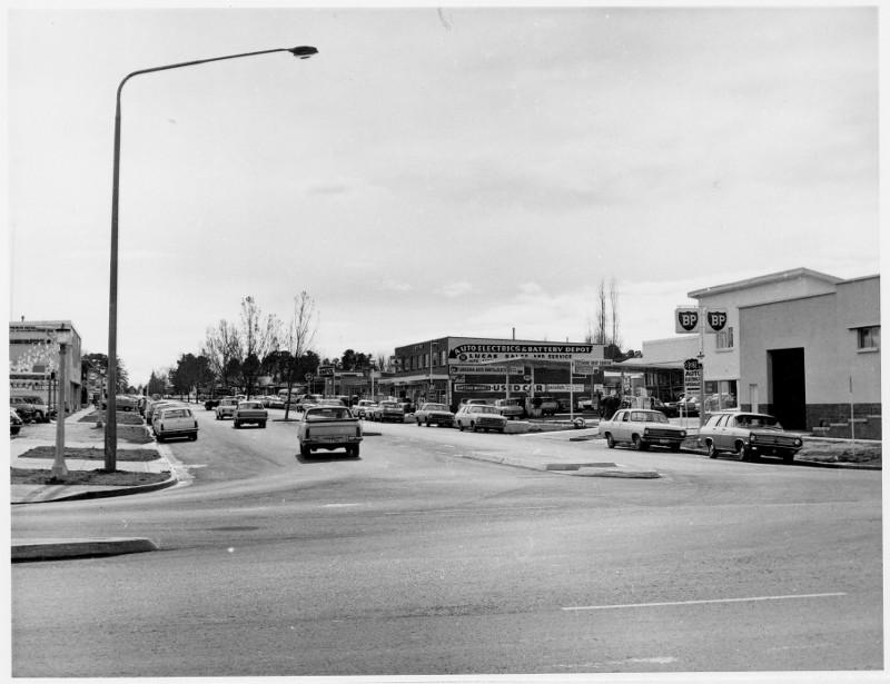 Lonsdale Street, Braddon in 1968