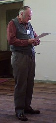Barry Price at the public access seminar 24th May 2007