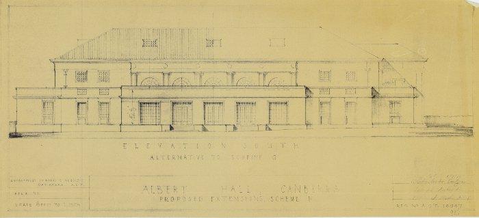 Plan 18947 - Albert Hall Extension
