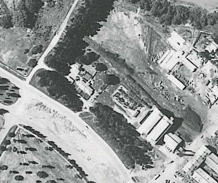Kingston Powerhouse precinct in 1950