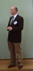 Former Territory Records Office Director David Wardle at the public access seminar 24th May 2007