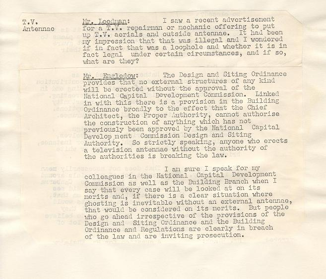 NCDC Minutes 13/03/1972