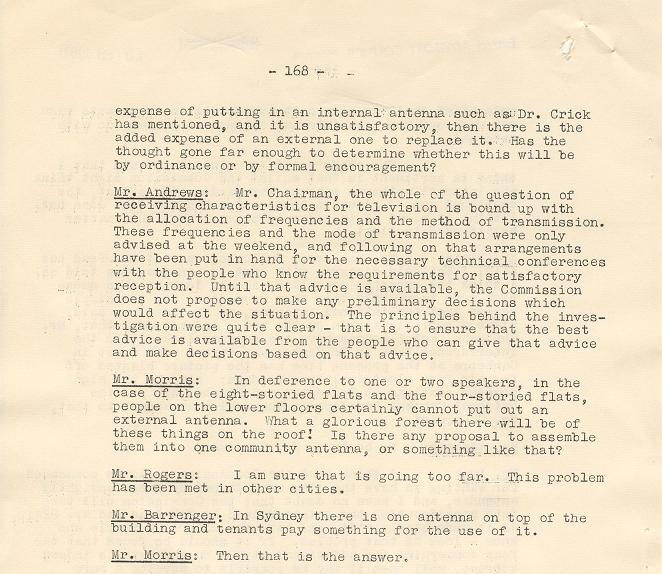 NCDC Minutes 20/02/1961 - page 168