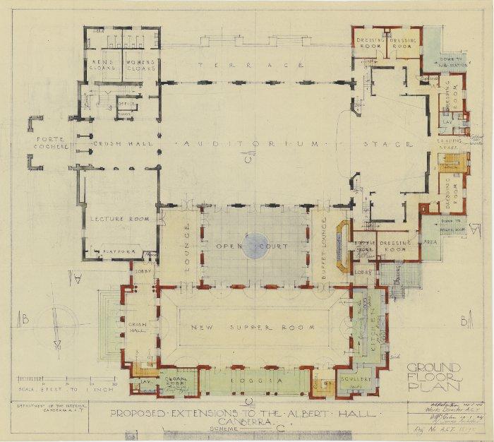 Plan 15195 - Albert Hall Extension
