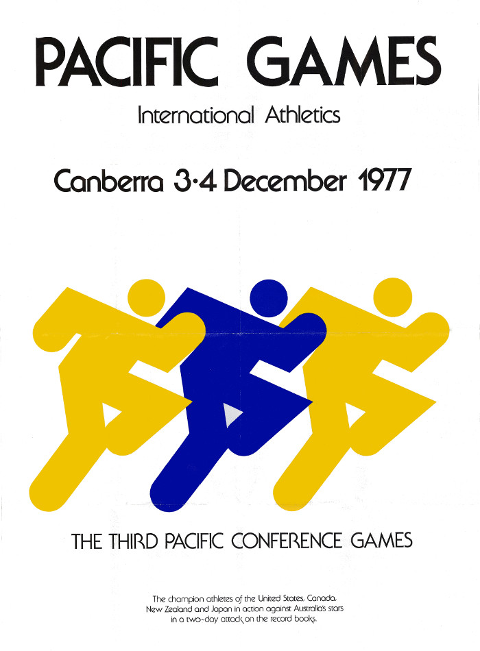 Pacific Games poster