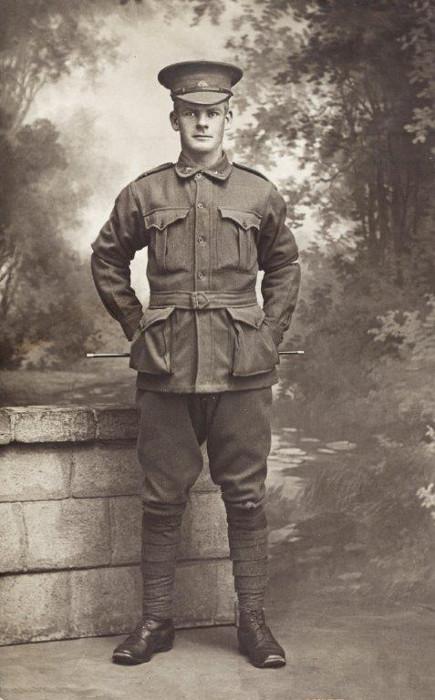 John Edward Kevans in Uniform