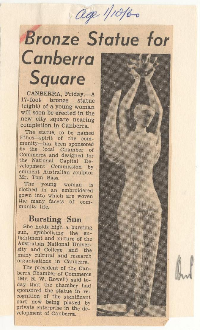Age 01/10/1960 - Article on Ethos