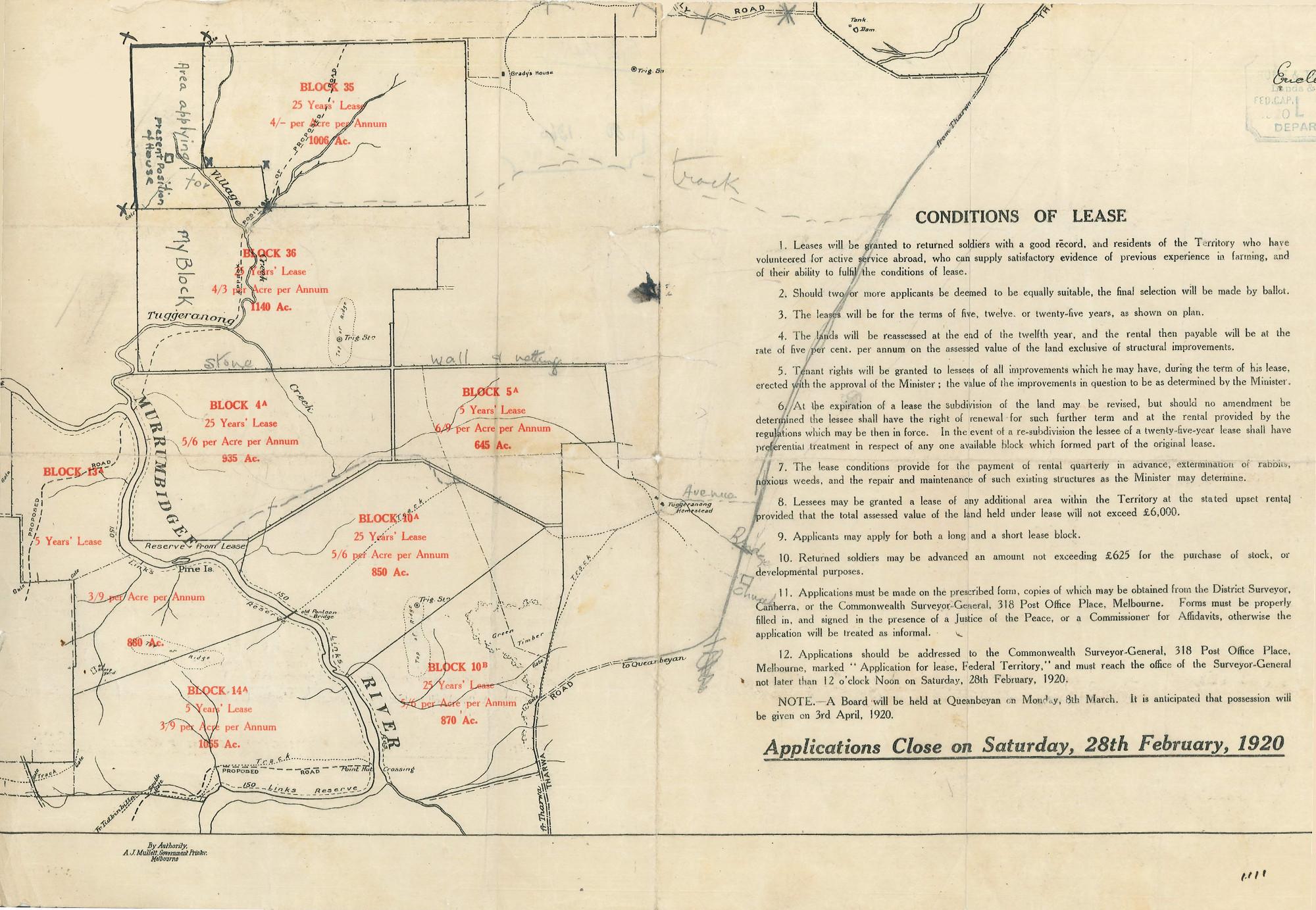 Военные поселения схема